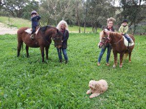 Ponyreiten auf dem Pferdehof Morgenstern Sardinien